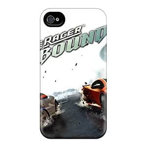 New Snap-on Bernardrmop Skin Case Cover Compatible With Iphone 4/4s- Ridge Racer Unbounded Game