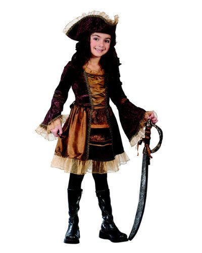 Sassy Pirate Wig - Sassy Victorian Pirate Child Costume -