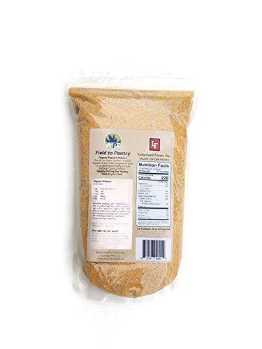 Organic Popcorn Polenta - Artisan Stoneground Field to Pantry - 2.0lbs