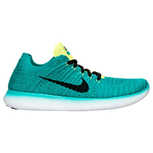 Nike Mens Free TR Force Flyknit Running Shoes (Rio Teal, 8.5)