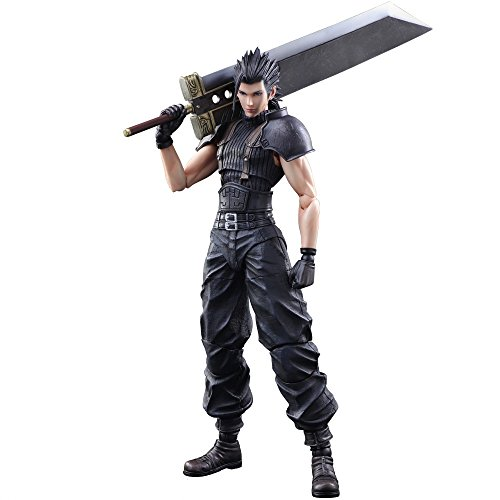 Square Enix Final Fantasy VII Crisis Core Zack Fair Play Arts Kai Action Figure