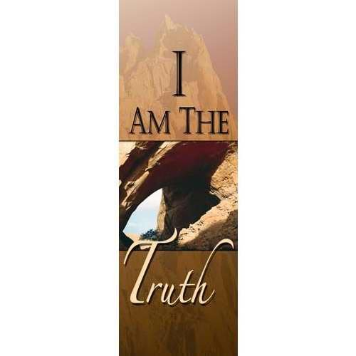 Church Banner - I am the Truth 2' x 6' (Indoor) by VCP Wholesale