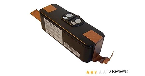 vhbw Batería Li-Ion 3000mAh (14.4V) para aspiradoras, robot aspirador iRobot Roomba 555, 560, 562, 563, 564 reemplaza 11702, GD-Roomba-500.