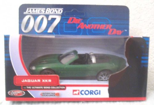 Jaguar XKR James Bond Die Another Day Corgi Car Jaguar Xkr James Bond