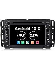 Radio de coche Android 10.0 estéreo de 7 pulgadas 2 G RAM para GMC Chevy Silverado Radio IPS DSP pantalla táctil PX30 coche Multimedia Navegación Soporte DVD Bluetooth WiFi Mapa actualización