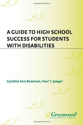 A Guide to High School Success for Students with Disabilities Pdf