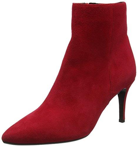 Red Mujer Rojo OSHA Dune Botas para 6XCUww8x