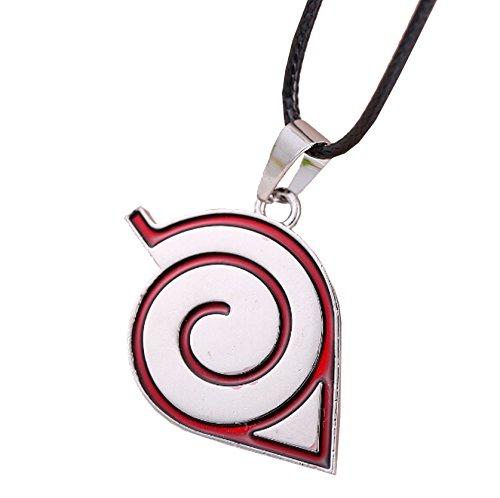 Qinol Naruto Necklace Hokage Cosplay Accessory Tsunade Pendant (1 pc)