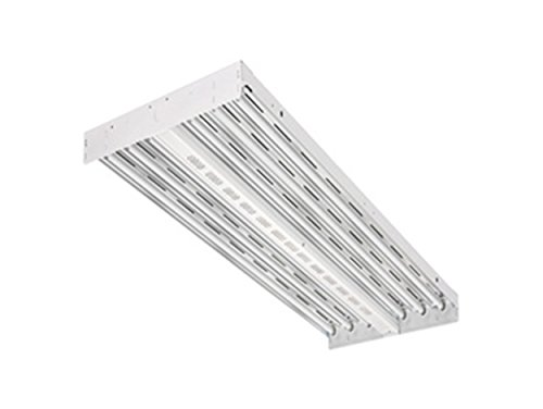 Lithonia Lighting IBZT5 6 Contractor Select 6-Light T5HO Fluorescent High Bay, 120 Volts, 54 Watts, -