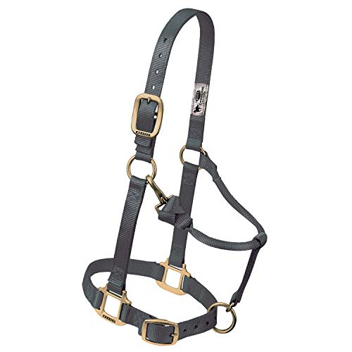 - Weaver Leather Original Adjustable Chin and Throat Snap Halter, 3/4