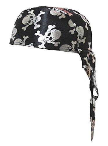 Petitebella Party Costume Hat Unisex Free Size (Silver Pirate)