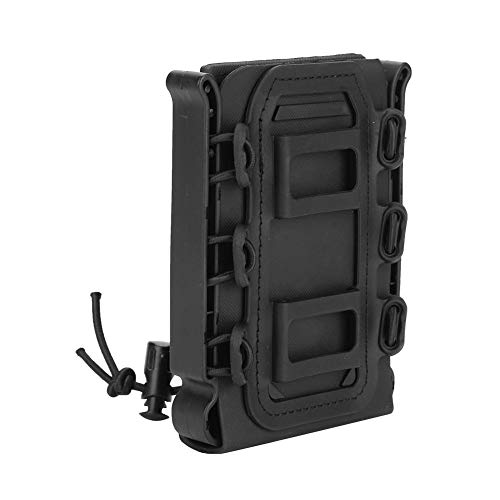 - Vbestlife Mag Pouch, 5.56mm/7.62mm Rifle Mag Pouch Storage Bag Molle Tactical Magazine Carrier Softshell Cartridge Box Hunting Equipment Holder(Black)