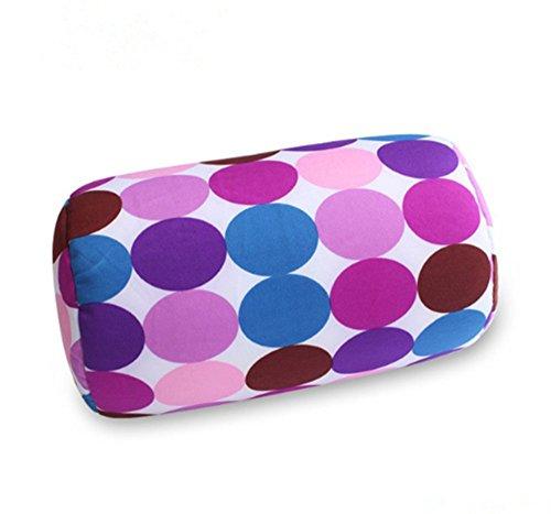 HS-1PC-Microbead-Cushie-Roll-Pillow-Cushion-Throw-Pillow-Sleep-Neck-Pillow-purple