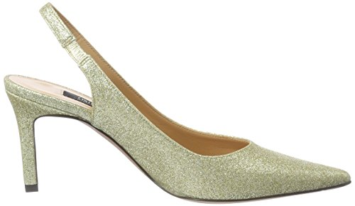 Escarpins Gold Femme 103 Bride Stefy Or Oxitaly Gold Arriere HABgy