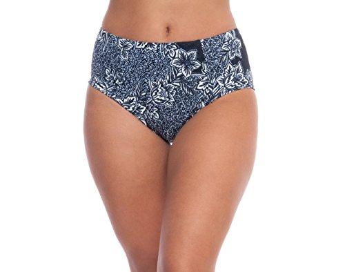 ALYNED TOGETHER Women's Retro Mid Rise Bikini Top The Celine Eco-Friendly ()