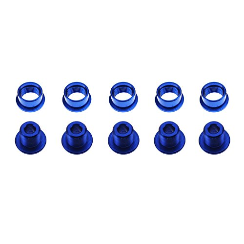 Double Alloy Chainring Bolts - 8