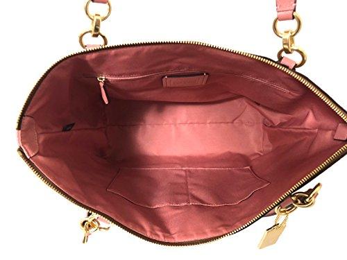 Shopper AVA Tote Leather Bag Handbag Multi Khaki Coach Im E4qRfBOqc