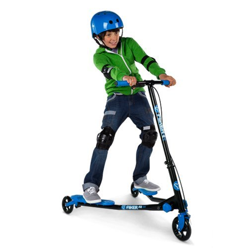 Yvolution YFliker A1 Air Ride On, BLUE/BLACK, One Size by Yvolution (Image #2)