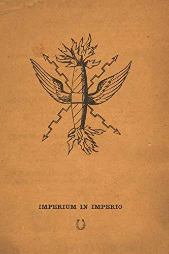 (IMPERIUM IN IMPERIO: Latin for beginners english note book journal literary distressed diary)