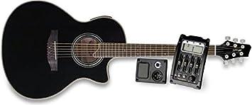 Stagg–Guitarra electroacústica SW306cetu de BK