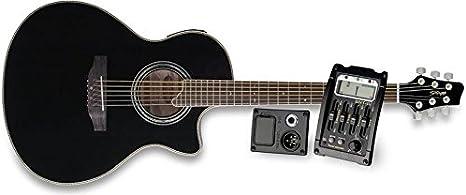 Stagg – Guitarra electroacústica SW306 cetu de BK: Amazon.es ...