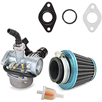 amazon.com: carburetor chinese 4 wheeler 50 70cc 90cc ... dodge 2006 ram 4 7 fuel filter