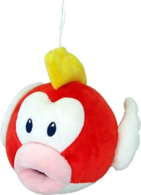 Official Nintendo Mario Plush Series Stuffed Toy - 6 Pukupuku Cheep Cheep Japanese Import from Japan VideoGames
