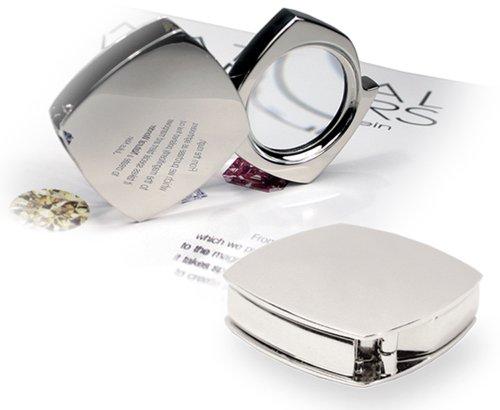 Natico Silver Magnifier in Folding Case (30-1960) ()