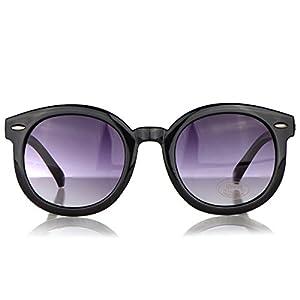 Vintage Style Black Anti-UV Sunglasses for Kids