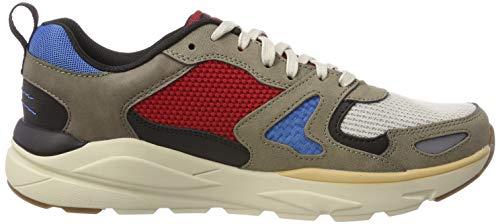 Skechers Herren VERRADO BROGEN Hohe Sneaker, Brown, 47.5 EU