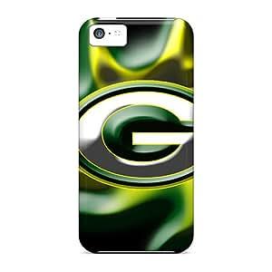 LauraAdamicska Iphone 5c Perfect Hard Phone Cases Support Personal Customs Vivid Green Bay Packers Series [asI5400NAPM]