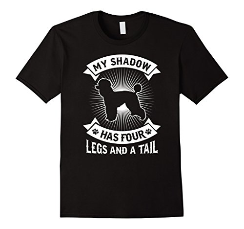 (My Shadow Has 4 Legs And A Tail Poodle Dog Owner)