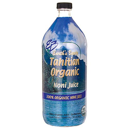 Earth's Bounty Tahitian Organic Noni Juice, 32 Fluid Ounce