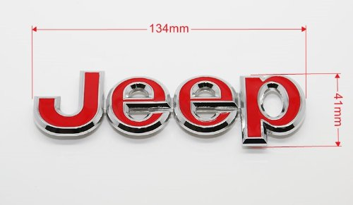 Grill Badge Emblem Decals Fit For Jeep wrangler compass patriot Grand cherokee bleqi.co.ltd