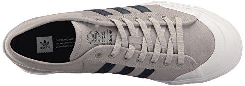 adidas Herren Matchcourt Mgh Solid Grey / Collegiate Marine / Weiß
