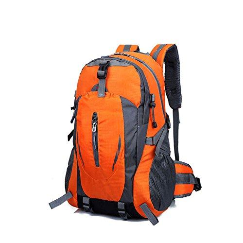 Hrph New Fashion Outdoor Sport Nylon Rucksäcke Frauen MenTravel Rucksack Bergsteigen Wandern Taschen Orange 01wijwwBI6