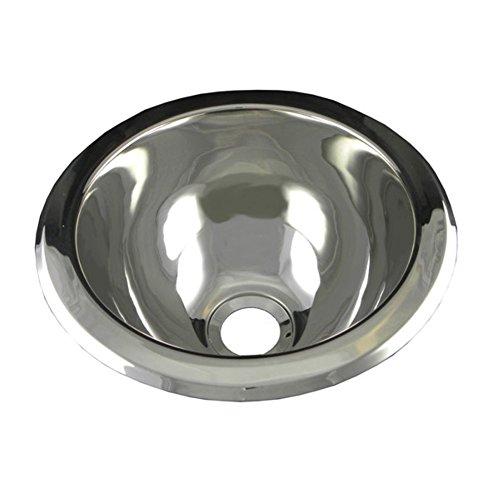 Round Undermount Bar Sink - 8