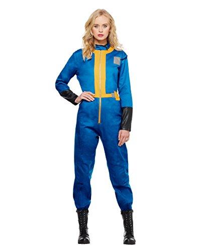 [Spirit Halloween Adult Womens Vault Dweller Costume - Fallout,Blue,L] (The Spirit Of Halloween Costumes)