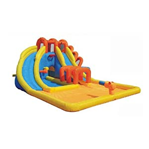 Summer Blast Inflatable Water Park KWWS-9145E by Kidwise