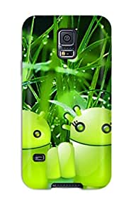 New Style Tpu S5 Protective Case Cover/ Galaxy Case - Android Nature Concept