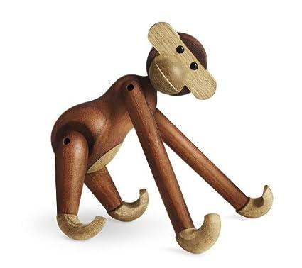 Kay Bojesen Monkey Ape Wooden Figure Teak An Limba Wood Large