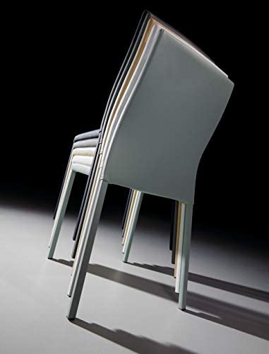 LF - Chaise Lot de 4 chaises Aura perle