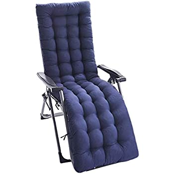 Amazon.com: IsEasy - Cojín para tumbona de patio o chaise de ...