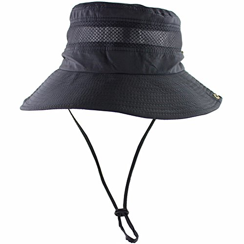 breathable wide brim boonie hat