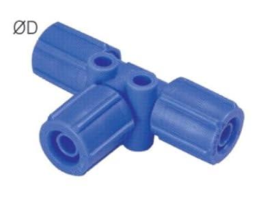 PneumaticPlus PY-5//16 Push to Connect Tube Fitting 5//16 Tube OD x 5//16 Tube OD Pack of 10 Union Y Pack of 10 Union Y 5//16 Tube OD x 5//16 Tube OD