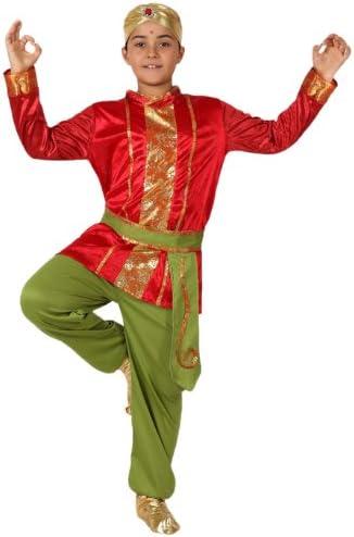 Atosa-15846 Disfraz Hindú, color rojo, 7 a 9 años (15846): Amazon ...