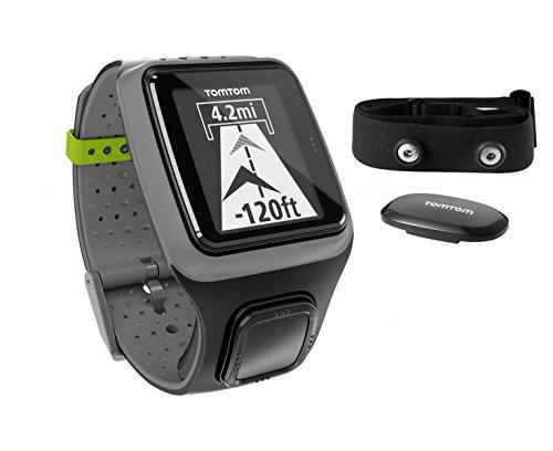 TOMTOM Runner Reloj GPS con Monitor de Frecuencia CardÃaca, Verde ...