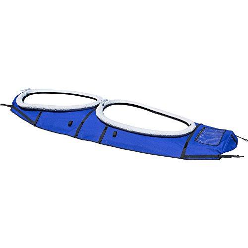 Aquaglide 58-5215069 Removable Touring Kayak Deck Cover - Double, Tandem (Cockpit Tandem Cover)