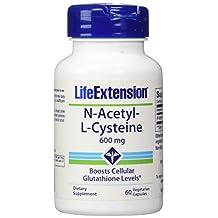NAcetylLCysteine 600 mg 60 vegetarian capsules