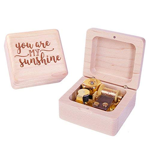 Sinzyo You are My Sunshine Music Box Gift for Christmas,Birthday,Valentine's Day,Best Gift for Kids,Friends